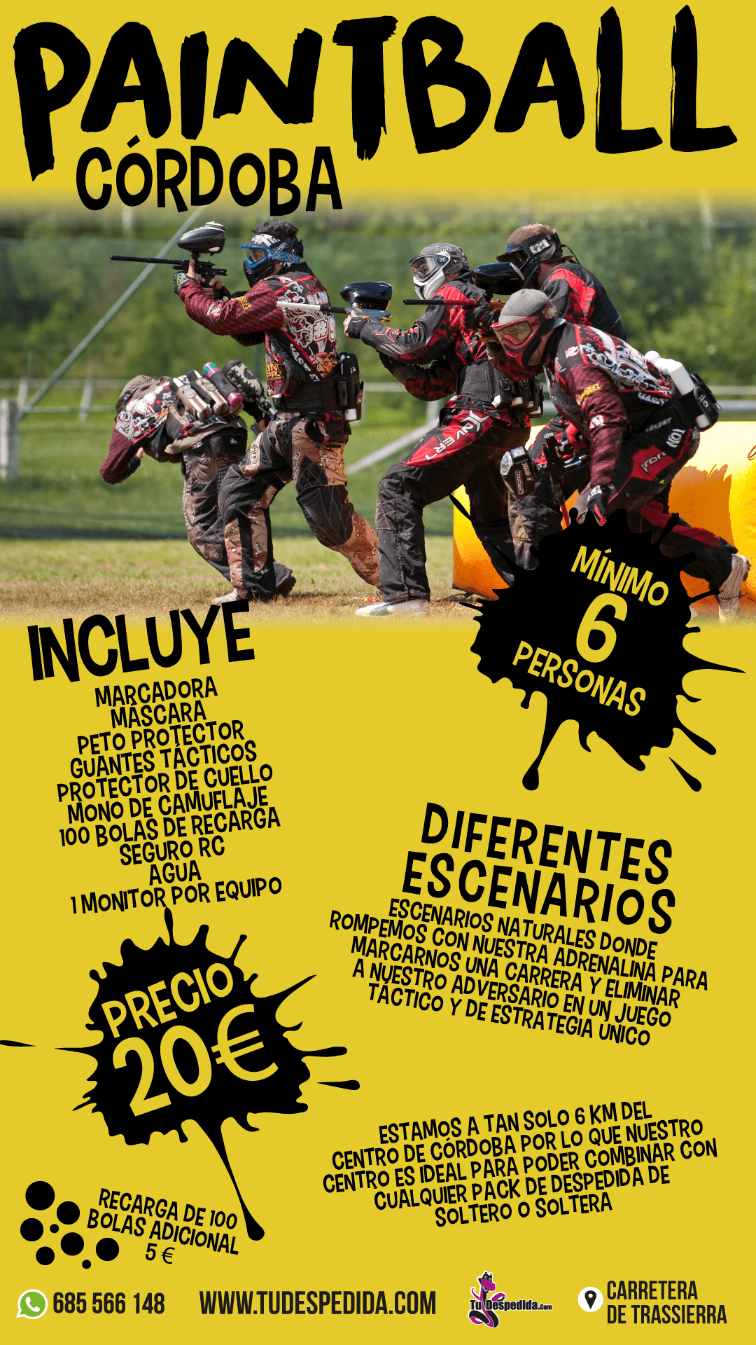 Paintball Córdoba