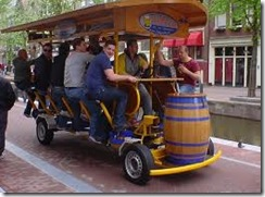 Precio alquiler de de bicibirra en Madrid