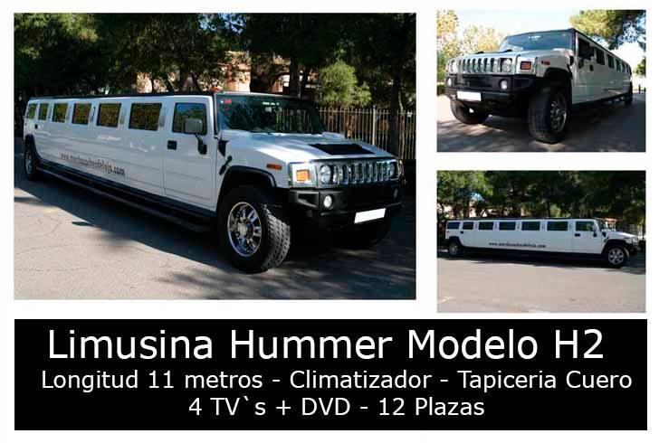 Limusina Hummer Valencia