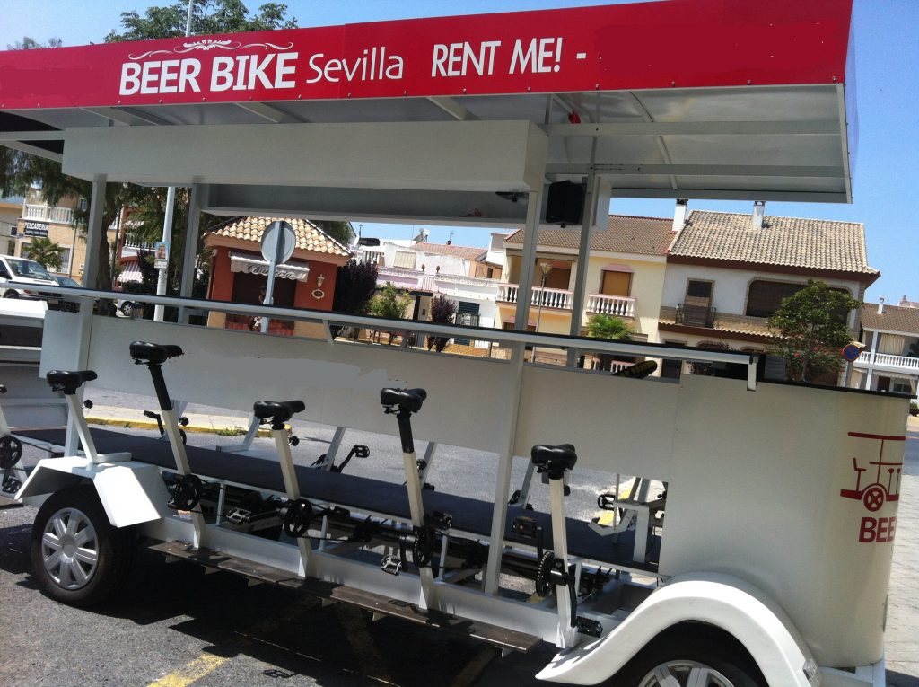 Beer bike Sevilla