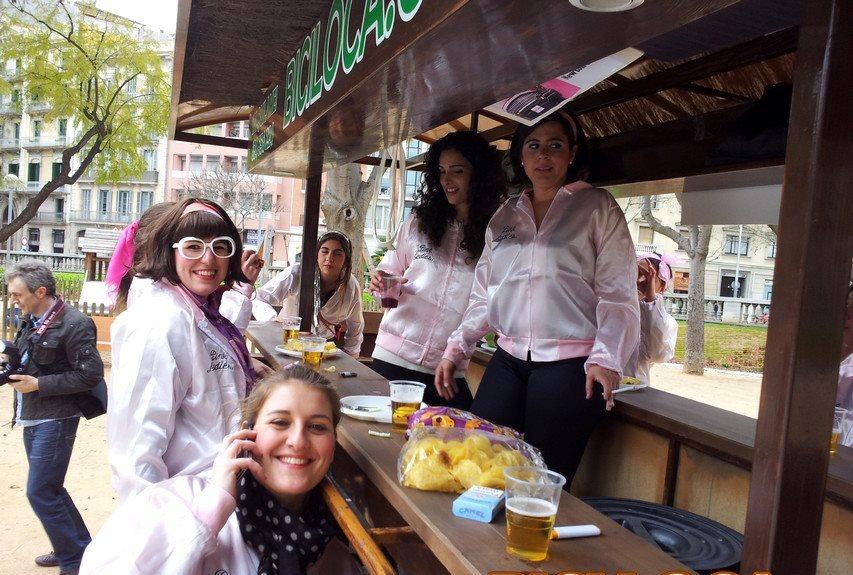 beerbike barcelona