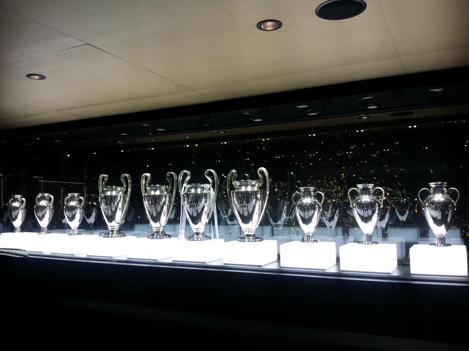 Sala de trofeos del Bernabeu