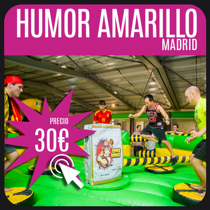 humor amarillo madrid