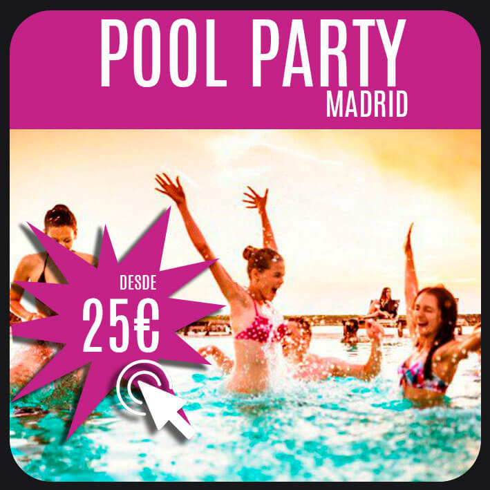 pool party madrid