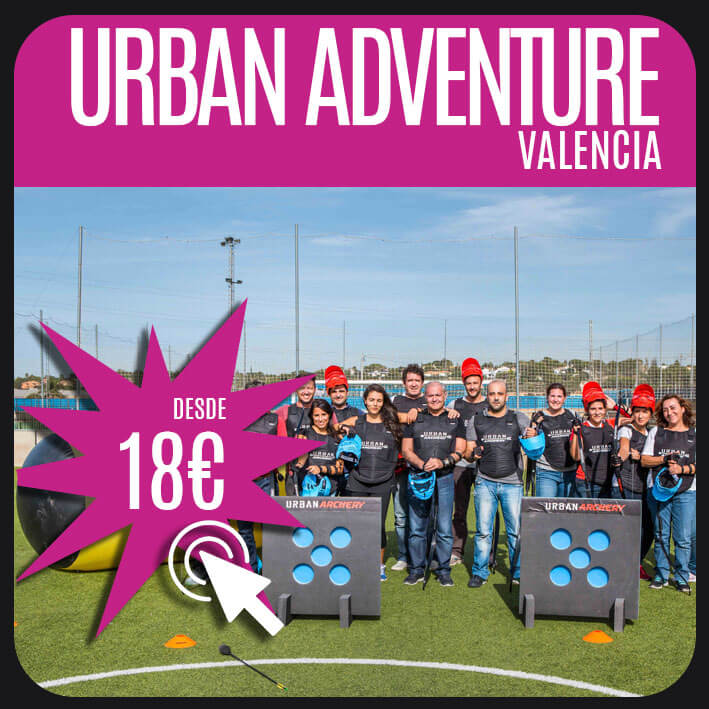 urban adventure valencia
