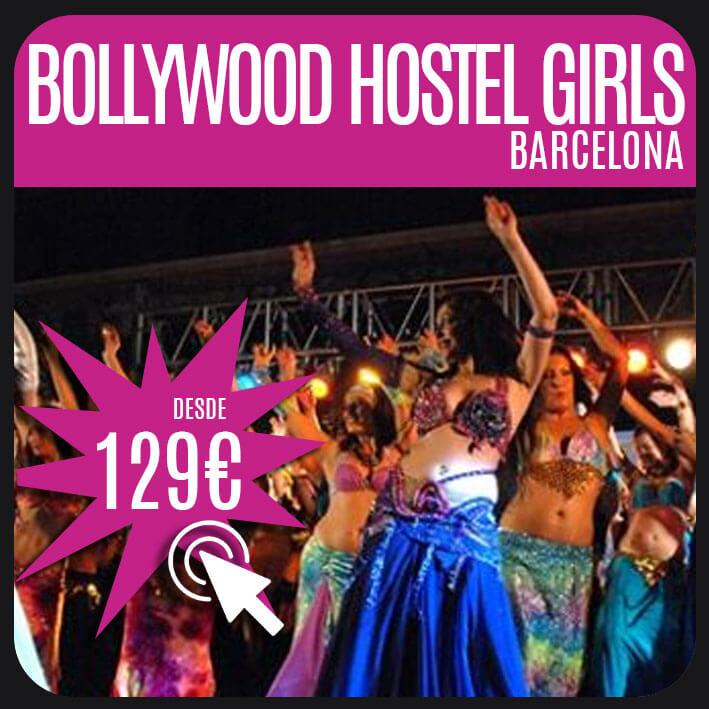 Bollywood Hostel Girls barcelona