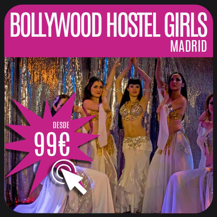 Bollywood Hostel Girls madrid