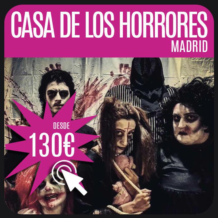 casa de los horrores madrid