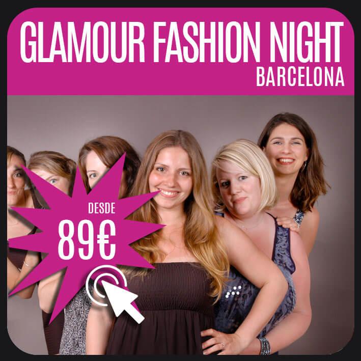 glamour fashion night barcelona