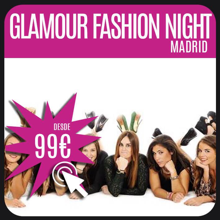 glamour fashion night madrid