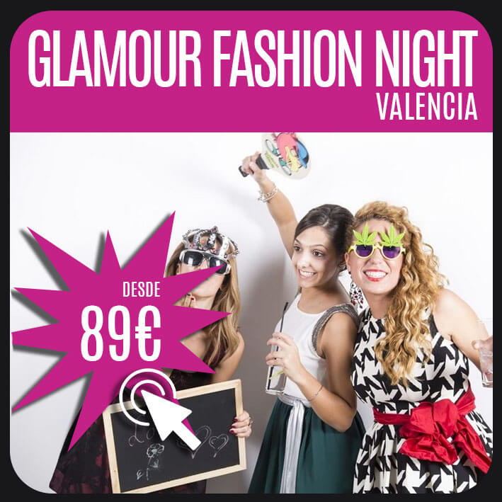 glamour fashion night valencia