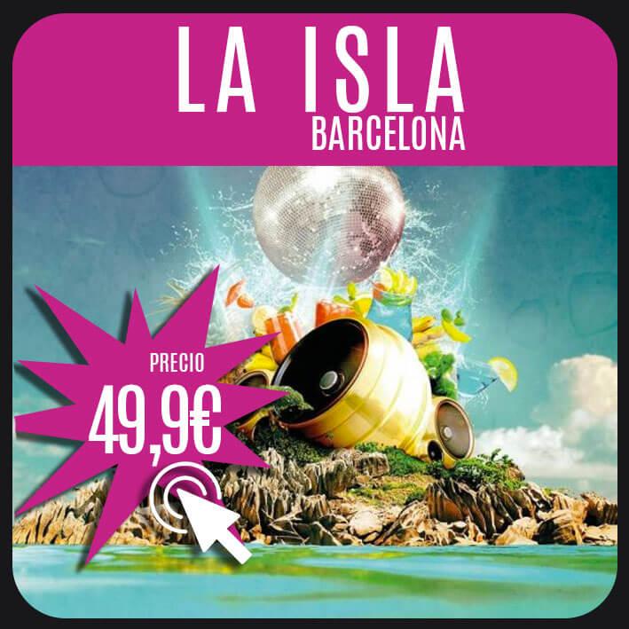 la isla barcelona