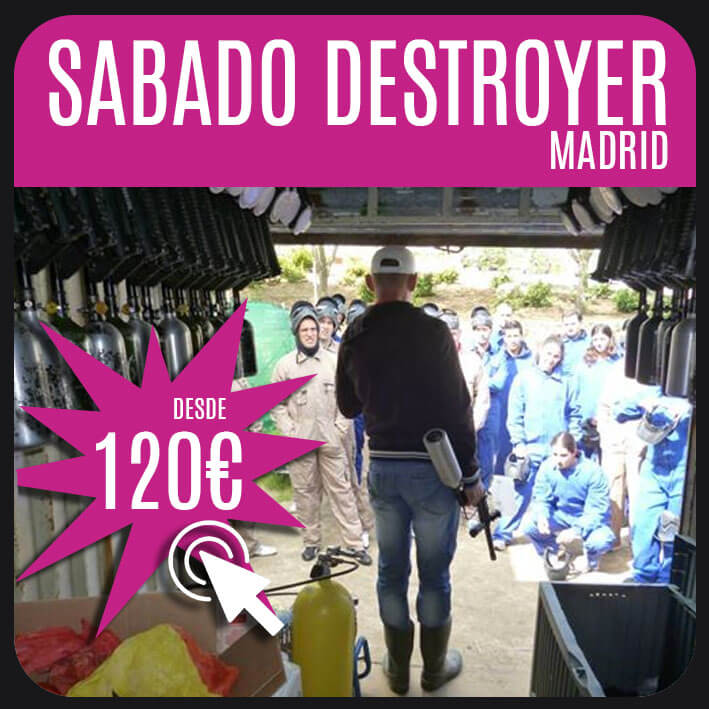 sabado destroyer madrid