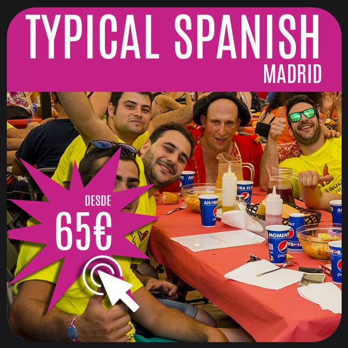 typical spanish madrid