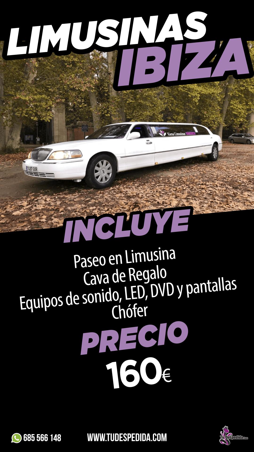 LIMUSINAS IBIZA