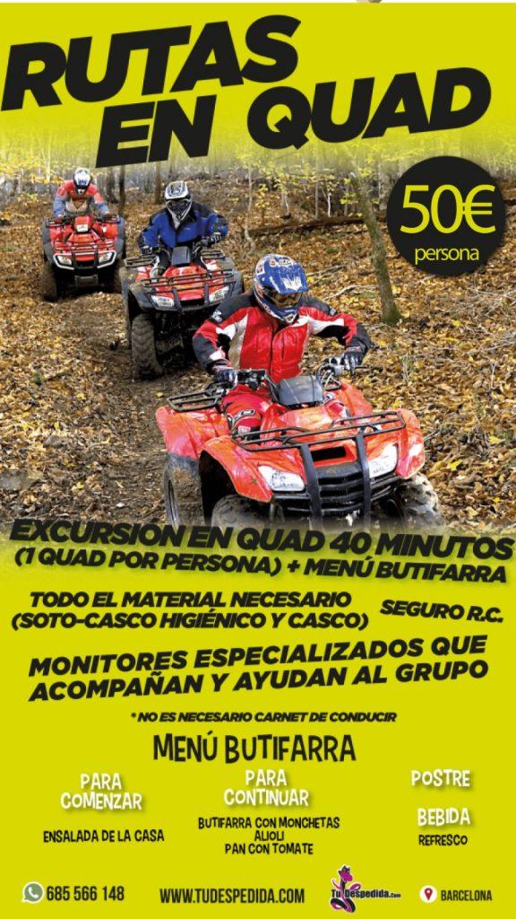 Rutas Quad Barcelona