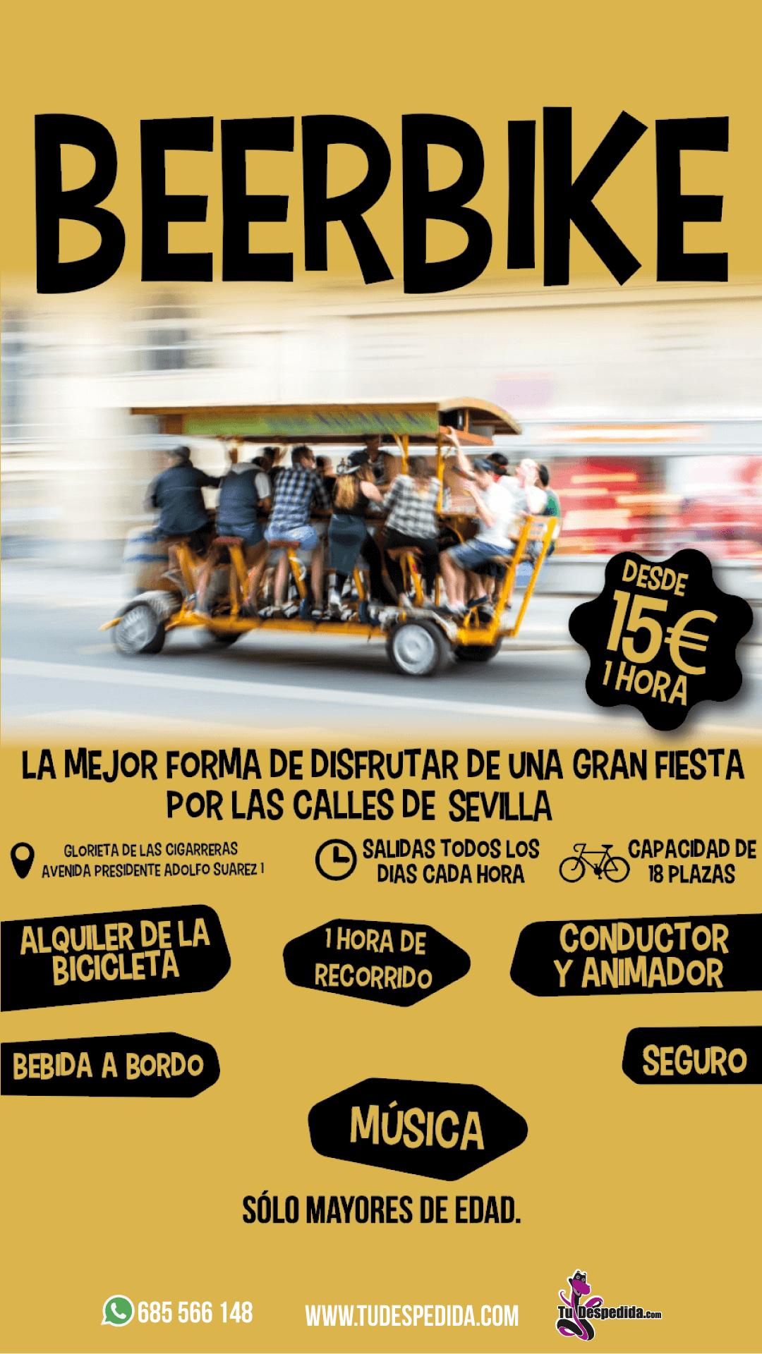 Beerbike Sevilla