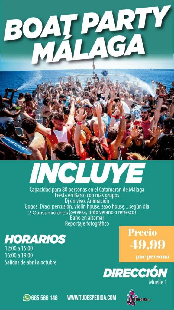Boat Party Málaga