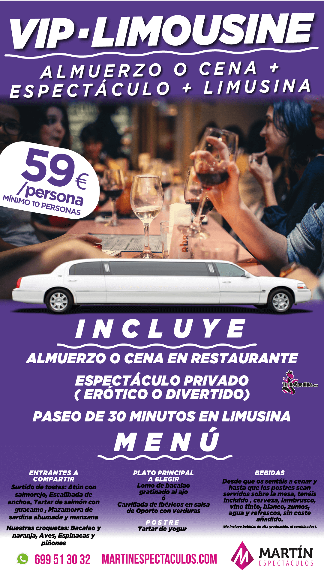 Pack Vip Limousine