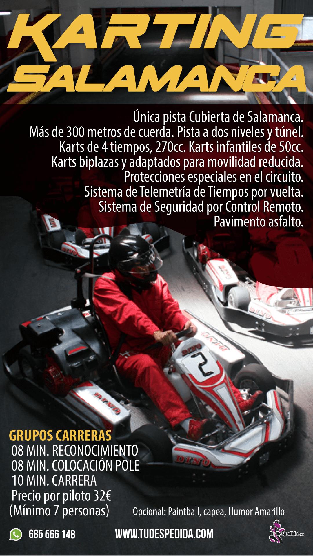 Karting Salamanca