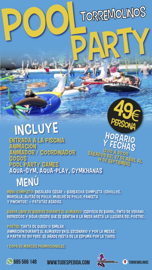 Poolparty Torremolinos