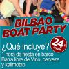 Bilbao Boat Party
