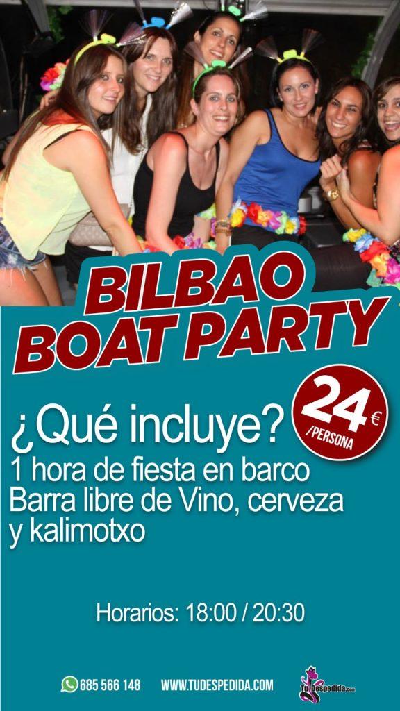 Bilbao Boat Party