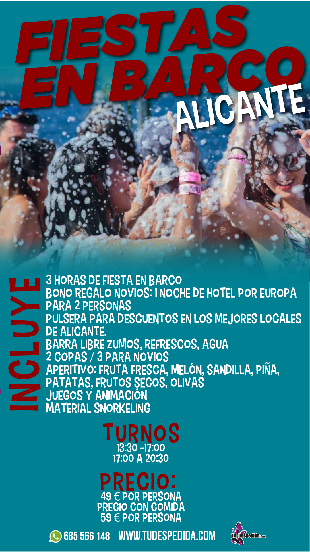 Boat Party Alicante