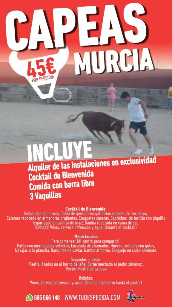 Capeas en Murcia