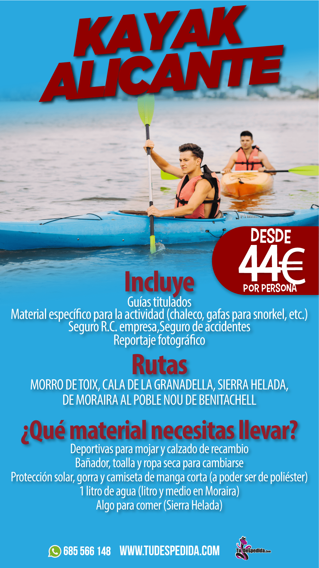 KAYAK ALICANTE