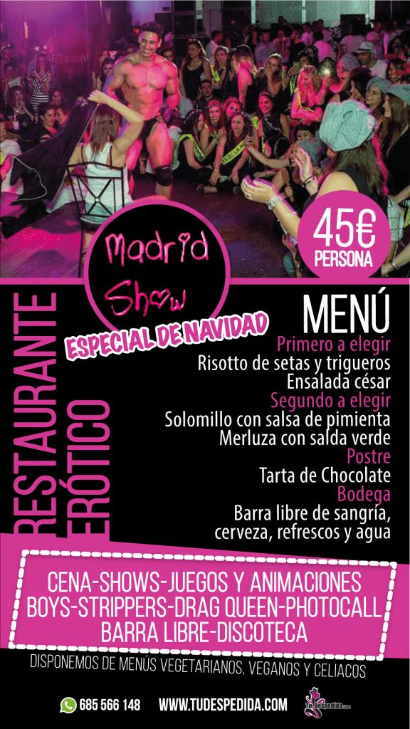 Madrid show Navidad