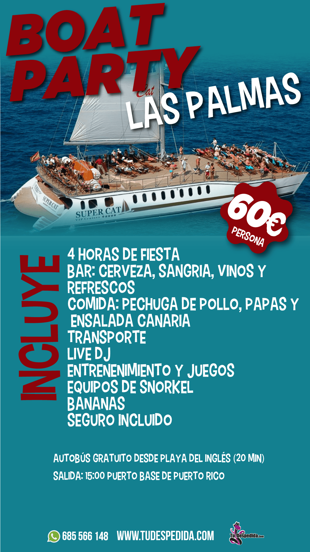 Boat Party Las Palmas