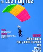 Paracaidismo en las Palmas